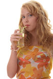 koktajlu popijanie obrazy stock