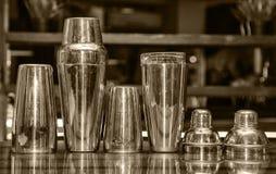 Koktajlu potrząsacz, bar Zdjęcie Royalty Free