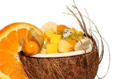 koktajlu tropikalny owocowy Fotografia Royalty Free