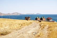 Koktebel - das Land der blauen Hügel Stockfotografie