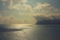 Koktebel Krim landskap Royaltyfri Bild