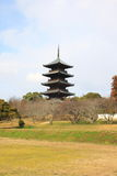Kokubuji temple Stock Image