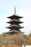Kokubuji temple Stock Photo