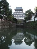 Kokura Castle on the River Stock Images