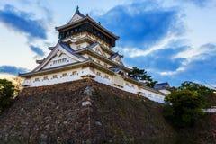Kokura slott i Kitakyusho Arkivbilder