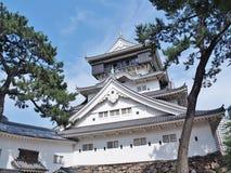 Kokura slott i Kitakyushu, Fukuoka prefektur, Japan Arkivbilder