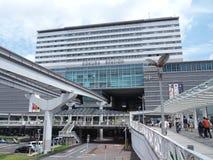 Kokura station i Kitakyushu, Japan Fotografering för Bildbyråer