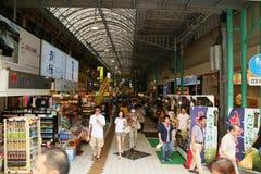 Kokusai街 免版税库存照片