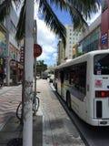 Kokusai dori, Okinawa, International Street, Japan Stock Photography