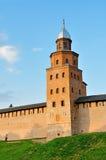Kokuytoren van Novgorod het Kremlin in Veliky Novgorod, Rusland Stock Fotografie