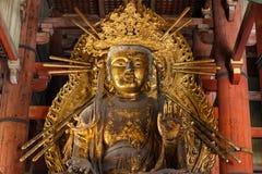 Kokuzo Bosatsu at Daibutsu den of Todaiji Temple in Nara Stock Photography