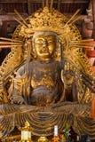 Kokuzo Bosatsu at Daibutsu den of Todaiji Temple in Nara Stock Images