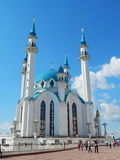 Kol Sharif Mosque in the Kazan Kremlin in the republic Tatarstan in Russia. Stock Photos