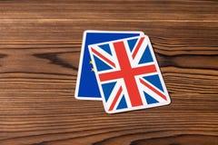 Kolaż na wydarzeniu Czerwiec 23: Brexit UE UK referendum który wygrywa g fotografia royalty free