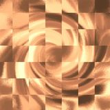 Kolaż textured nowożytna grafika Kawowy tekstury tło royalty ilustracja