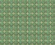 Kolaż zieleń wzoru płytki w Portugalia Obrazy Stock