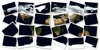 kolaż ziemia ilustracja wektor