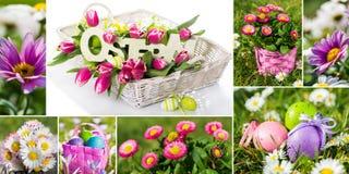 kolażu Easter wizerunków rozmaitość fotografia royalty free