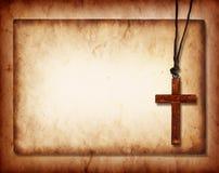 kolażu krzyż Fotografia Royalty Free