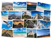 kolaży wizerunki Mexico Obraz Royalty Free