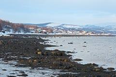 Kola Bay Stock Foto's