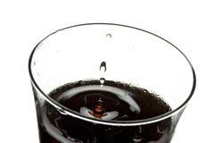 Kola in glas Stock Foto