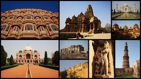 Kolaż India Zdjęcia Royalty Free