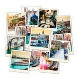 Kolaż od Wenecja Zdjęcia Royalty Free