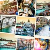 Kolaż od Wenecja Obraz Royalty Free