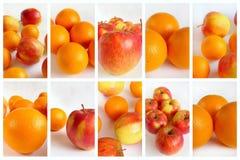 kolaż owoc Obraz Royalty Free