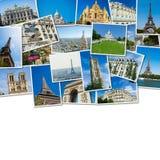 Kolaż Paris fotografie inkasowe Zdjęcie Stock