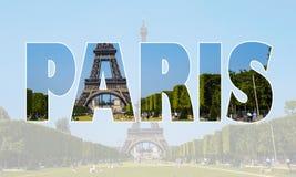 Kolaż Paris fotografie inkasowe Obrazy Royalty Free