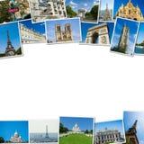 Kolaż Paris fotografie inkasowe Obrazy Stock