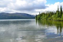 Kola Peninsula, Lovozero tundras, Seydozero. Russia, Kola Peninsula, Lovozero tundras, Seydozero royalty free stock photos