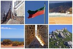 kolaż Portugal Obrazy Stock