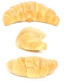 kolażu croissant Obrazy Royalty Free