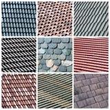 kolażu dach Fotografia Stock