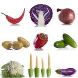 kolażu warzywo Obraz Stock