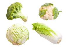 kolażu warzywo Fotografia Stock