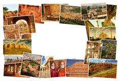 Kolaży obrazki Rajasthan, India Obraz Royalty Free