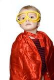 Kolaci bohatera chłopiec Obraz Stock