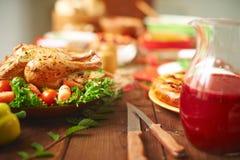 kolacja świątecznie zdjęcia royalty free
