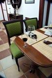 kolacja apperitiv Zdjęcia Stock