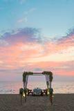 kolacja romantyczne miejsce Obrazy Royalty Free