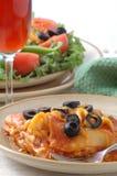 kolacja we włoszech Fotografia Stock