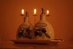 kolacja we włoszech Fotografia Royalty Free