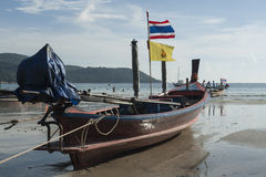 Kolae, Kata海滩,普吉岛,泰国 免版税图库摄影