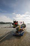 Kolae, Kata海滩,普吉岛,泰国 免版税库存照片
