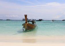 Kolae-Boot in Lipe-Insel, Thailand Stockbild