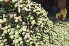 Kolang de la producción de la fruta de Takjil kaling adelante en la demanda hoy el Ramadán foto de archivo libre de regalías